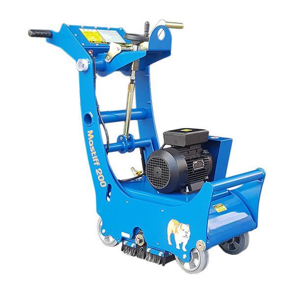 """Concrete Scarifier 200MM 8"""" Electric 415V"""