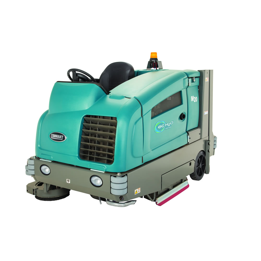 SWEEPER SCRUBBER COMBINATION RIDE ON LPG