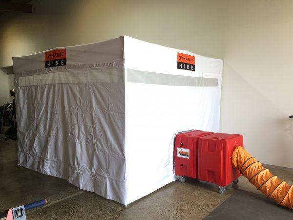 Dust Control Tent 3mtr x 3mtr